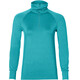 asics Thermopolis LS 1/2 Zip Top Women Lake Blue Heather
